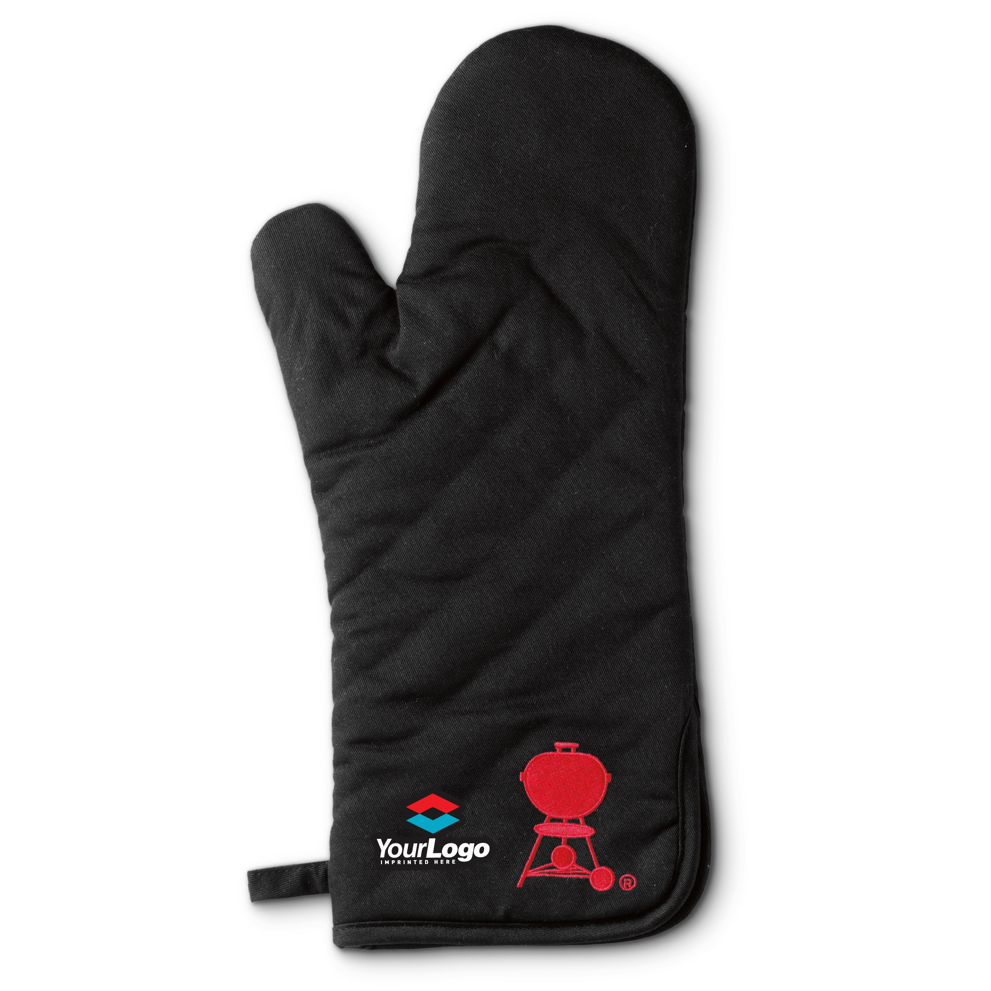 Custom Imprinted Weber Mitt