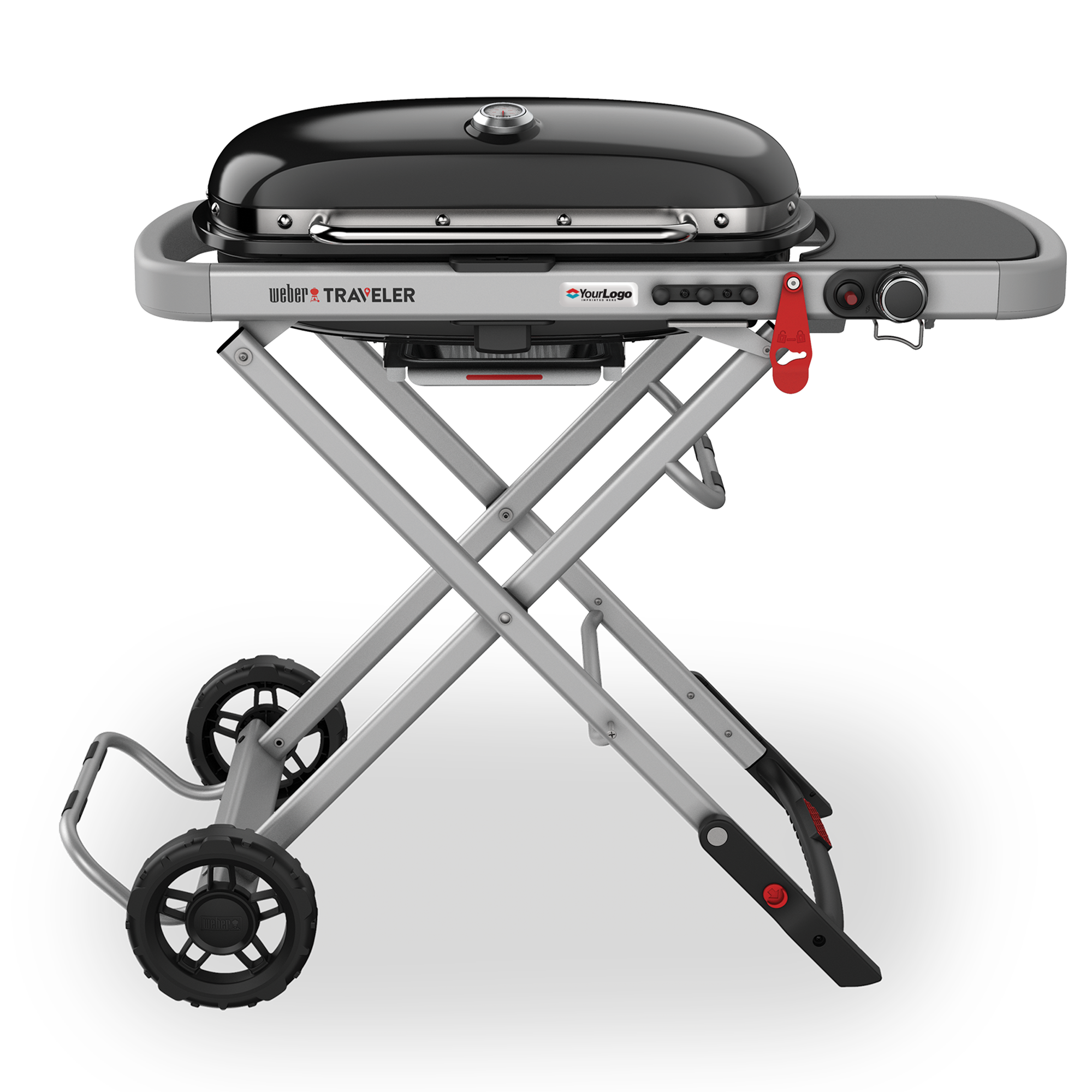 Traveler Gas Grill with Epoxy Dome